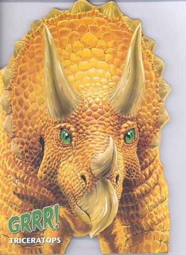 Şekilli Dinozorlar D.-Trıceratops-Çiçek Yayıncılık